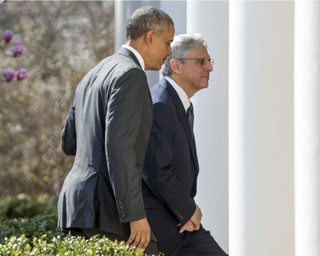 Photo by: Andrew Harnik Although Senate Republicans blocked President Obama's nomination of Judge Merrick Garland for the Supreme Court, the circuit courts handle much larger caseloads overall. (Associated Press)